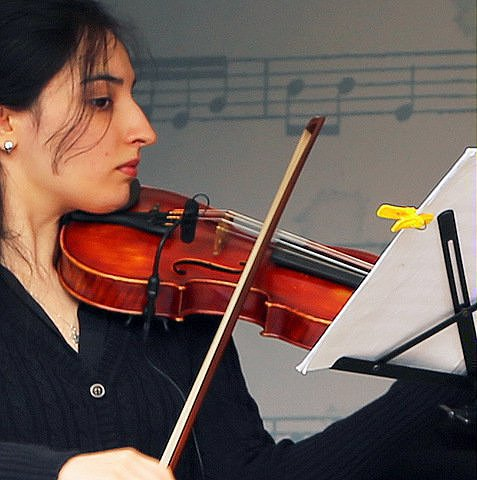 Скрипка путешествует к народу